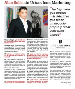 Alan Solís, de Urban Icon Marketing