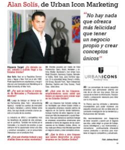 Alan Solís, de Urban Icon Marketing