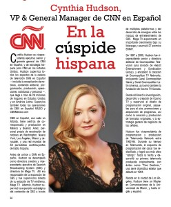Cynthia Hudson, VP & General Manager de CNN en Español