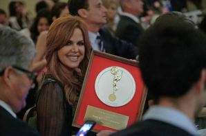 MARÍA CELESTE ARRARÁS WINS NATIONAL ACADEMY OF TELEVISION ARTS & SCIENCES SILVER CIRCLE AWARD FOR HER CAREER IN BROADCASTING