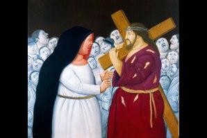 Fernando-Botero-Jesus-Meets-His-Mother
