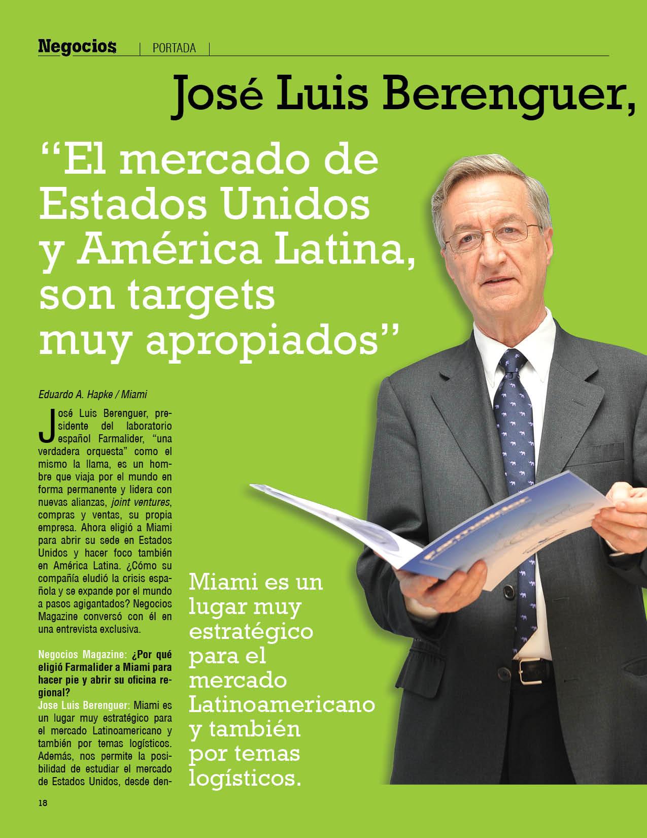 jose berenguer: