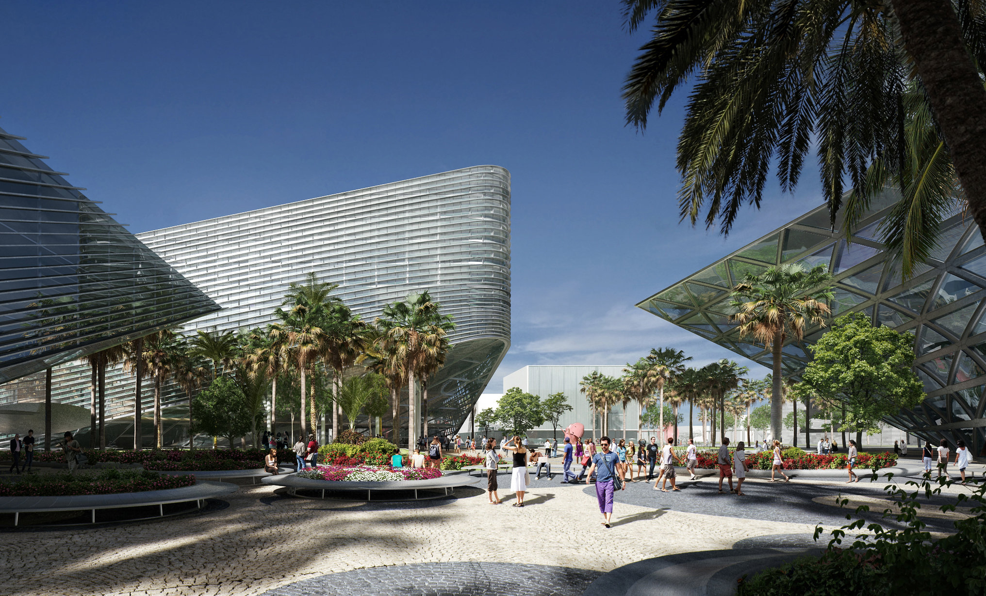 Portman Cmc Team Enters Final Stages Of Master Plan For Miami Beach Convention Center Negocios