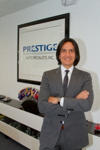 Marcello Serrato presidente de Prestige Auto