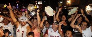 Las calles de Miami explotaron de alegría y el festejo no se hizo esperar.