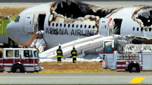 The cockpit voice recorder of Asiana Airlines Flight 214 appears to show the pilots tried to abort the landing less than two seconds before the plane crashed on the runway at San Francisco International Airport.