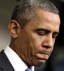"""""""Trayvon Martin podría haber sido yo hace 35 años"""", dijo el presidente en declaraciones hechas el viernes durante una aparición sorpresa en la sala de prensa de la Casa Blanca."""