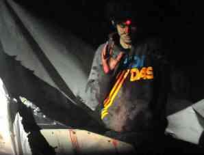 las imágenes, tomadas por el sargento Sean Murphy, un fotógrafo de la Policía estatal que trabajó durante el dispositivo de captura de los hermanos Tsarnaev.