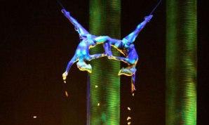"""El hecho sucedió en el espectáculo """"ka"""" que la compañía Cirque du Soleil presenta en el MGM Grand Theater de las Vegas. Es la primer tragedia en los 30 años."""