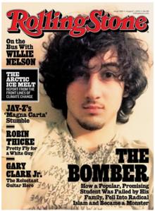 La polémica se desató luego de que la revista comenzó a promocionar la nueva portada y se armo una batahola en Internet.