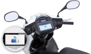 According to Terra, the scooter will be significant in Japan to cut on expenses where the price of gasoline is approximately $5.40 per gallon compared to electricity, which costs around 12 cents per kWh.