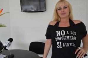 Falleció,  la presidenta de la fundación No a los Biopolímeros, Sí a la Vida, Mary Perdomo.