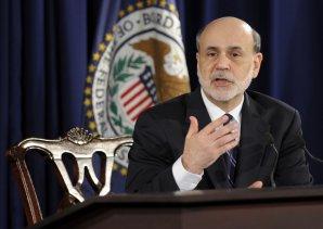 Presidente de la Reserva Federal, Ben Bernanke.