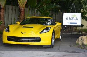 Se presentó el nuevo 2014 Chevrolet Corvette Stingray, con la presencia de directivos de la automotriz.