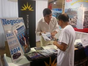 Negocios Magazine estuvo presente en la feria hispana mas importante del Sur de la Florida.