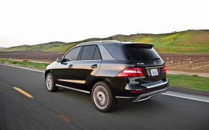 The Mercedes-Benz GL350 BlueTec, a diesel-powered luxury SUV costing $73,020.