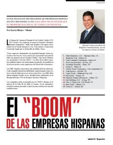"""El """"BOOM"""" DE LAS EMPRESAS HISPANAS"""