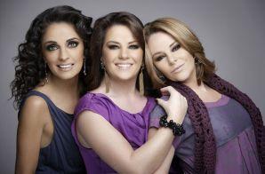 Radiantes: Fernanda Meade y las hermanas Isabel y Mayte Lascurain (en orden usual) celebran el éxito que ha obtenido su nuevo álbum.