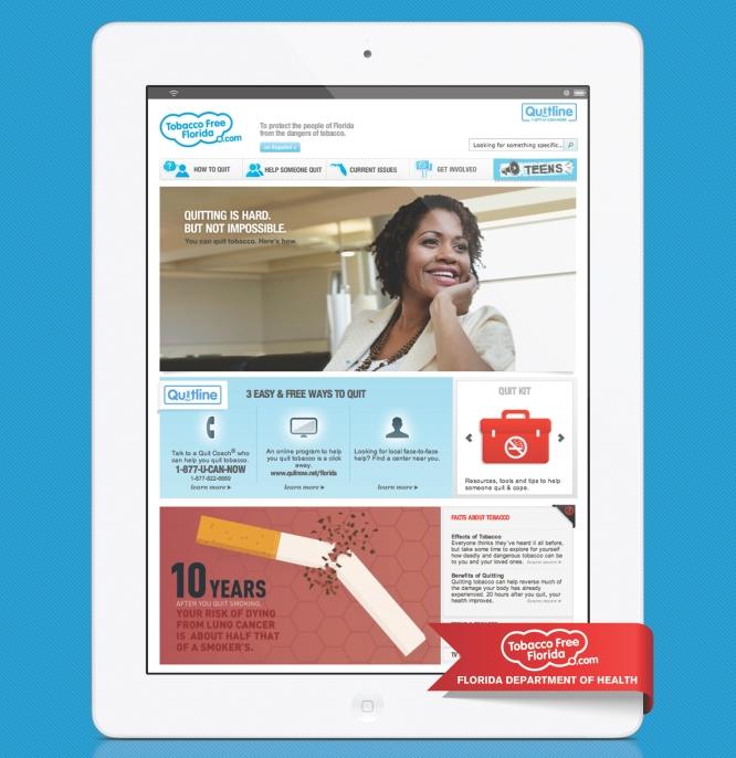 TFF website homepage