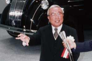 JAPAN-AUTOMOBILE-COMPANY-TOYOTA-TOYODA
