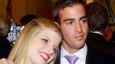 Juan Pablo Cartes, junto a su hermana, Sol Cartes
