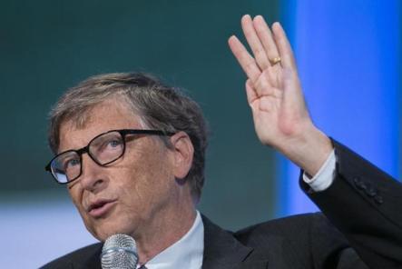 # 6 El multimillonario filántropo estadounidense y fundador de Microsoft, Bill Gates. REUTERS/Lucas Jackson