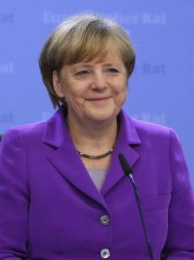 # 5 La canciller alemana, Angela Merkel. EFE/Julien Warnand