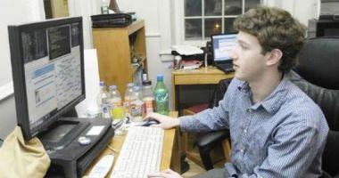 Mark Zuckerberg en sus inicios.