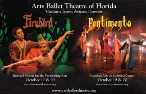 Arts Ballet Theatre of Florida open season with 2 fantastic ballets!