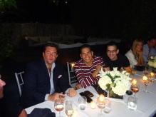 Mariano Menendez, Ismael Cala y Bruno Torres.