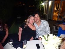 Pablo Chiozza y su esposa Renata.