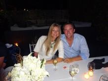 Jesse Ottey y su esposa.