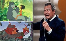 Phil Harris had an illustrious entertainment career, appearing as an actor and comedian on radio and as a singer, musician and band leader. In 1967 and 1973 he voiced two very similar-looking bears for Disney. The first was as cuddly Baloo in The Jungle Book, the second as cuddly Little John in Robin Hood. Picture: Alamy (top left)