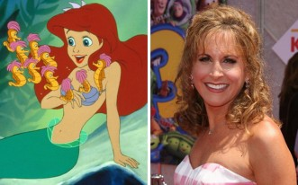 Jodi Benson has voiced many Disney characters – including Thumbelina and Barbie in Toy Story – but her biggest role is as Ariel in the hugely successful 1989 film The Little Mermaid. Away from the big screen, she's also a Tony Award-winning stage actress. Picture: Rex (right)