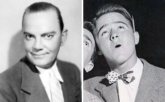 LEFT: Like many early Disney stars, Cliff Edwards appeared in more than one animated film. His first was as Jiminy Cricket in Pinocchio – a character best known for singing the song When You Wish Upon a Star – before later playing the crow in Dumbo. Outside of films Edwards was also a successful ukulele player who had a number one hit with a cover of Singin' in the Rain in 1929. RIGHT: Dickie Jones was just 13 years old when he starred as Pinocchio in 1940. Afterwards he had a reasonably successful acting career until he gave it all up in 1959 to go into real estate. He's still alive today and has been known to appear at Disney promotional events.