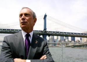 El alcalde de Nueva York, MIchael Bloomberg