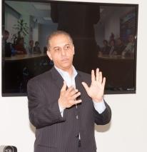 """Presidente de Neoris USA Sam Elfawal anfitriona programa de orientación para el empleo """"Socios Por Un Día"""" en Durante Semana Global del Emprendimiento"""