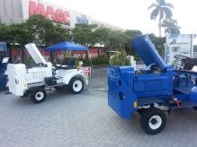 Todo en el marco de la exposicion de Cargo & Sea 2013.