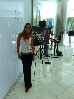 La presentadora de CNN María Alejandra Requena