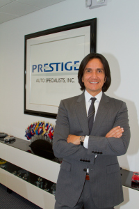 Marcello Serrato: Alma mater de Prestige Auto