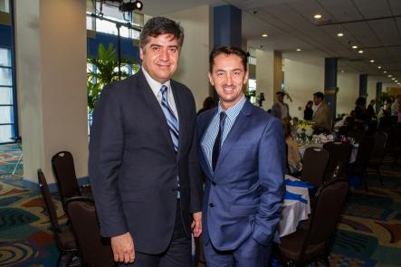 Eduardo Hapke y Ariel Gavilán.