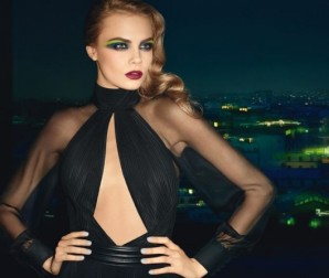 "La firma Yves Saint Laurent hace un guiño al ""pop art"" y propone un maquillaje eléctrico."