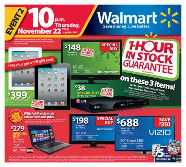 Walmart Los Articulos Mas Populares Del Viernes Negro Negocios
