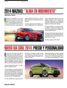 """2014 MAZDA3- """"ALMA EN MOVIMIENTO"""""""