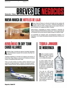 AEROLÍNEAS EN SKY TEAM CARGO ALLIANCE