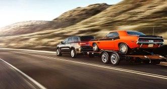 La Dodge Durango posee una gran capacidad de traccion.
