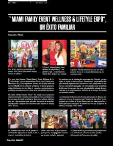 """MIAMI FAMILY EVENT WELLNESS & LIFETYLE EXPO"""