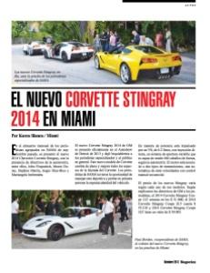 EL NUEVO CORVETTE STINGRAY 2014