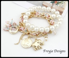 Price $ 45.00 Product Fashion Bracelets Specification 24g-19cm Color the same picture Material alloy/imitation