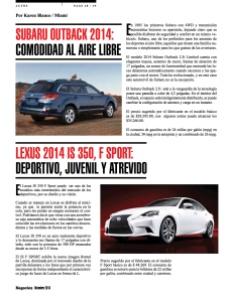 LEXUS 2014 IS 350, F SPORT-